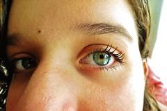 Slip inside the eye of your mind (Ldia Moreira) Tags: green girl brasil eyes olhos brazilian garota menina verdes