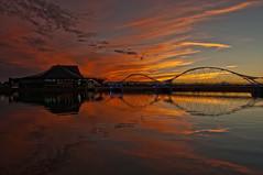 Miss You Paradise (Steven Maguire Photography) Tags: sunset arizona sky lake water phoenix dusk tempetownlake tempecenterforthearts artofimages bestcapturesaoi elitegalleryaoi
