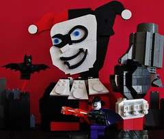 Mad Love (Julius No) Tags: love comic lego contest harley cover batman quinn joker mad eurobricks