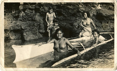 Natives of American Samoa - May 1942 (Matt Champlin) Tags: usa history usmc us war pacific wwii southpacific historical samoa 1942 worldwar2 natives americansamoa pacifictheatre pacificwar guadalcanalcampaign edsonsraiders kenchamplin samoaworldwar2 nativesofsamoa