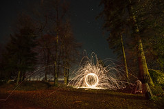 Balls on the mountain (nils.rohwer) Tags: light ball nikon balls spinning zrich uetliberg layered steelwool d90
