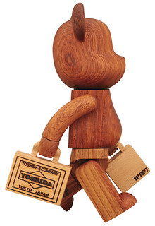 YOSHIDA × BE@RBRICK 400% 吉田カバン創業77周年記念木製BE@RBRICK