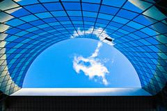 C'est canon! (fidgi) Tags: blue sky cloud architecture canon bleu ciel nuage levalloisperret cmwdblue canoneos7d