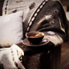 November nights... (..Ania.) Tags: november home cozy chair warm tea blanket teacup comfort woolblanket 112pictures31liquid
