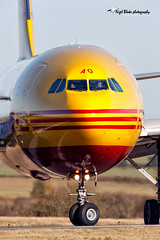 D-AEAO DHL Cargo Airbus Airbus A300F (Nigel Blake, 12 MILLION...Yay! Many thanks!) Tags: uk england london ex cn photography for airport aircraft aviation cargo civil airbus 711 blake departure nigel luton dhl taxiing a300b4622rf daeao n7151