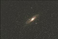 Andromeda galaxy (Meylin Bayryamali) Tags: night dark way star ngc telescope bulgaria andromeda galaxy messier universe milky meylin
