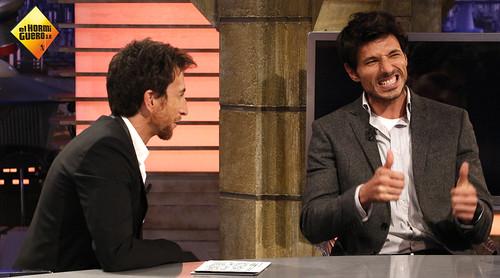 Andrés Velencoso vino a divertirse a El Hormiguero