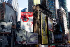 total recall 1 (grapfapan) Tags: nyc urban skyscraper canon giant advertising eos manhattan huge global 7thavenue 650d