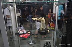 The Elvira Macabre Museum (linn&spencer) Tags: museum comics display culture exhibit pop macabre 2012 elvira comikaze
