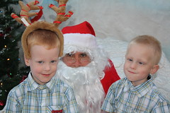 IMG_2962 (drjeeeol) Tags: santa animal charlie will triplets toddlers 2012 refuge backtonature 50monthsold