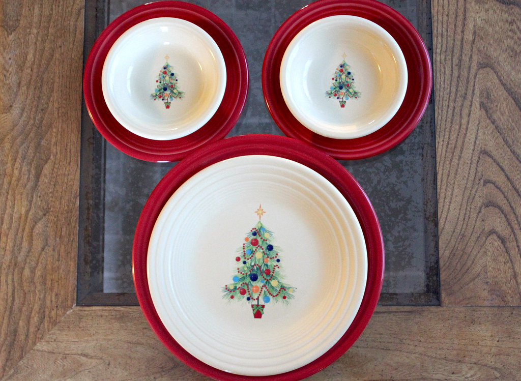 Images Of Fiestaware Christmas Plates Christmas Tree & Fiesta Christmas Dinnerware - Castrophotos