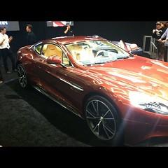 My favorite car of the show. Aston Martin Vanquish.