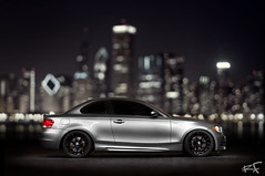 DSC_5159 (Ray Flores) Tags: chicago lightpainting flores car skyline nikon automobile long exposure ray bokeh bmw carpics carporn d90 135i 1083photo rayfloresphoto