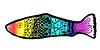rainbow fish (geoncox) Tags: fish pen ink drawing zentangle