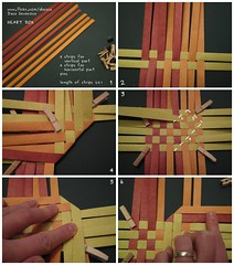 Heart Box Tutorial 1/6 (Dasssa) Tags: origami heart box weaving tutorial paperstrips dasssa