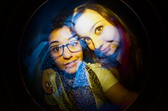 #335 ([ iany trisuzzi ]) Tags: film analog 35mm analgica doubleexposure flash fisheye multipleexposure fisheye2 day335 project365 365days