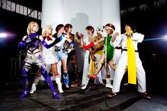 Street Fighter x Tekken (Nebulaluben) Tags: barcelona street españa costume spain fighter williams cosplay nina tekken nebulaluben erikkukun prukoginojutsublog