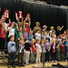 Indian Lake Central School Elementary rehearsing for their Dec. 13, concert. Photo: George DeChant.