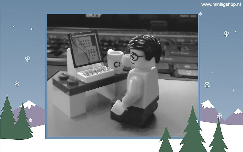 LEGO December Nerd Wallpaper MinifigShop Tags Christmas Computer Advent Lego