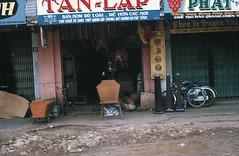"""Saigon 1965-66 - Tiệm bán hòm """"rẻ hơn các nơi"""" - đường Võ Tánh PHÚ NHUẬN (manhhai) Tags: 1966 saigon 1965"""