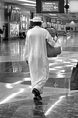 United Arab Emirates - Dubai (luca marella) Tags: people bw white black blackwhite airport pb bn international e teddybear bianco nero dxb  omdb marella   marellaluca