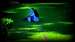 Love Somebody (joelCgarcia) Tags: couple lomoish d300 pacopark 1685mmf3556gvr
