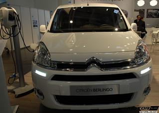 Citroen: Electric Cars at eCarTec 2012 in Muni...