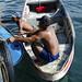 Durante la navigazione trovano una grande botte abbandonata