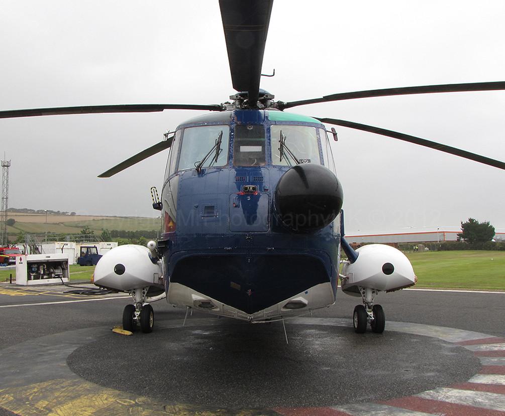 8205 cornwall - G Bffj Sikorsky S 61 Penzance Heliport Devon Amp Cornwall Aviation