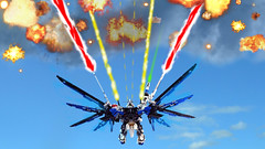 LEGO Freedom Gundam Full Burst mode (demon14082001) Tags: mobile freedom robot perfect lego seed grade suit creation destiny gundam mecha moc trng zgmfx10a nn