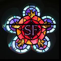 SF - St Francis (detail) by John Lawson, 1974 (Simon_K) Tags: stpancras catholic rc ipswich suffolk eastanglia church churches roman