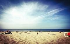 On the beach (wiedenmann.markus) Tags: sun vacation holiday wave zuiderstrand nederland denhaag destaat sand water sea beach