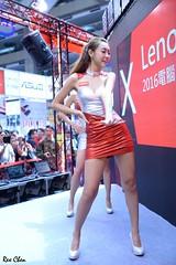 Lenovo (玩家) Tags: 2016 台灣 台北 世貿 電腦應用展 展場 人像 正妹 室內 無後製 無修圖 taiwan taipei showgirl sg portrait model sexy pretty indoor tamron a007