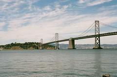 (Krista June) Tags: sanfrancisco bridge film analog 35mm bay baybridge pentaxk1000