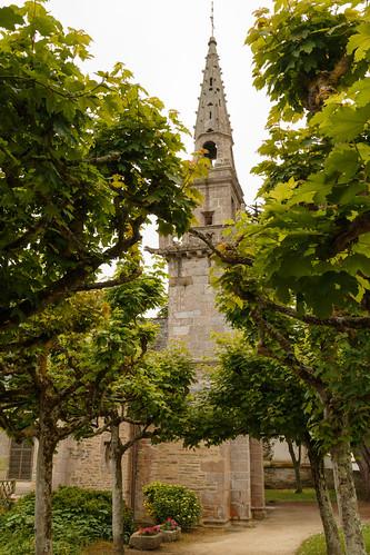 L'église Saint-Jacques de Locquirec