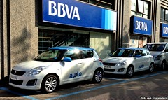 Suzuki Swift de 'Awto' - Santiago, Chile (RiveraNotario) Tags: suzuki suzukiswift awto cars autos santiago chile ridesharing