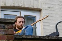British Summer (georgeplakides) Tags: guitar summer sunnyday portrait
