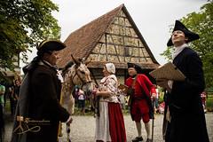 Viehmarkt 1756 - Wackershofen-1013.jpg (Siegfried Kreuzer) Tags: reenactment freilichtmuseum wackershofen viehmarkt 1756