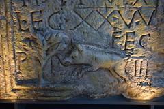 Boar--detail of Roman monument (Bebopgirl1969) Tags: boar carving stone roman