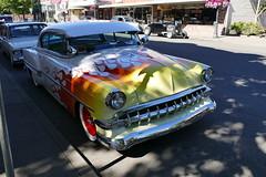 1954 chevrolet (bballchico) Tags: 1954 chevrolet flames billetproof carsonthestreet centralia carshow