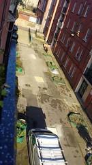 Stepney Green Court Courtyard before resurfacing works (Carol B London) Tags: stepneygreencourt courtyard beforeandaftyer before resurfacingworks stepneygreen ids sgc e1 londone1