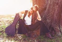 Orange Sunshine (Cardwell Photo LLC | Thanks for 3 Million Views!) Tags: afternoon backlighting backlit bearcreekpark beautiful beauty black blue bluejeans bohemian boho boots bracelet bright brown claudialara colorful cosplay faded fantasy fashion forest girl glasses goldenhour greaterhouston green guitar gypsy harriscounty hippie houston instrumentcase katy mandolin meetup model musician orange outdoor ppl park people plants portrait retro sit sitting smile smiling spring tanktop texas tree vest vintage warm white woman yellow grass headband horizontal sunny unitedstates