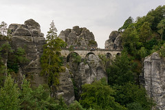 Bastei Bridge in Rathen - Saxon Switzerland National Park (timohannukkala) Tags: bastei bridge national park saxon saxonswitzerland schweiz schsische rathen sachsen germany de