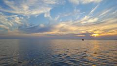 Sunset in Ringkøbing Fjord (Jaedde & Sis) Tags: sunset ringkøbing fjord evening water challengefactorywinner thechallengefactory perpetualwinner gamewinner gamex2 phone