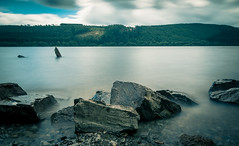 Lakeside (clickclickphotographyuk) Tags: wwwfacebookcomclickclickphotographyuk lake water seascape landscape nature wales britain british rock stone longexposure exposure nd filter 10stop 10 stop grad nisi lee filters blurred blur