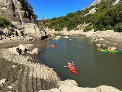 Kayaking on the Cedrino Lake (Carlo Pinna) Tags: travel italy nature sky iphone adventure summer cedrino lake sardinia kayaking kayak