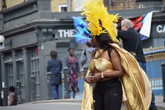 DSC_0653 Notting Hill Caribbean Carnival London Costume Lady Performer Showgirl Aug 29 2016 (photographer695) Tags: notting hill caribbean carnival london costume lady performer showgirl aug 29 2016