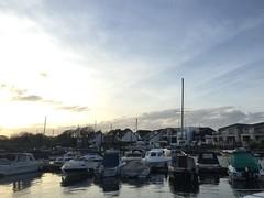 Christchurch Dorset quayside view (wholestonestudios) Tags: tranquillity peaceful christchurchdorset moorings sailingboats riverside river
