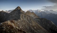crossing (Thomas Sobottka) Tags: mountain ridge morning lowsun early sunrise alps southtyrol peak shadows silent quiet high