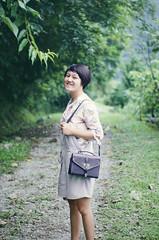 (MingWs) Tags: girl d5100 nikon outdoor green smile 50mm
